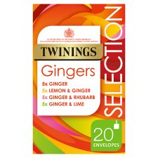 Twinings Selection Ginger 20 Tea Bags