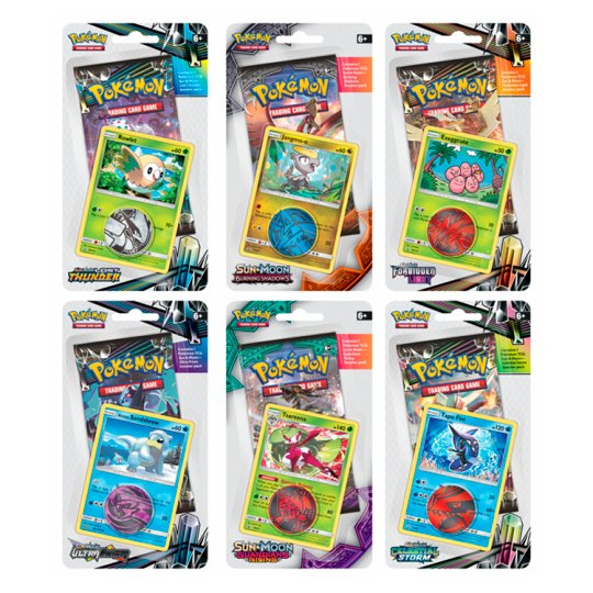 Pokemon Premium Booster Blister