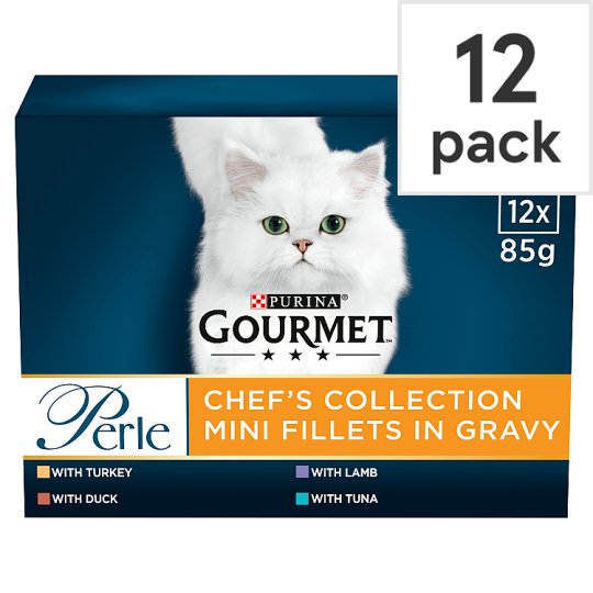 image 1 of Gourmet Perle Cat Food Chefs Collection 12 X 85G