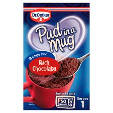Dr Oetker Pudding In A Mug Rich Chocolate 70G