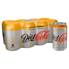 Diet Coke Mango 8X330ml