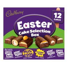 Cadbury 12 Easter Cake Selection