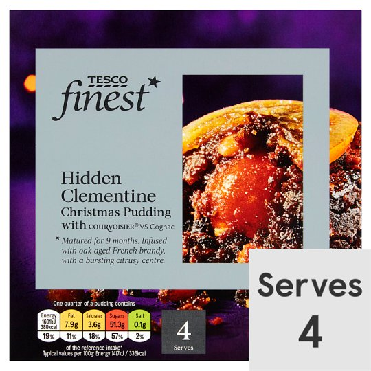 Tesco Finest Clementine Pudding 454G