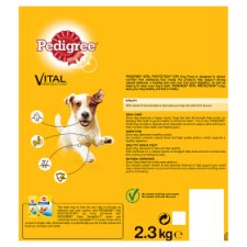 image 3 of Pedigree Small Dog Dry Food Chicken 2.3Kg