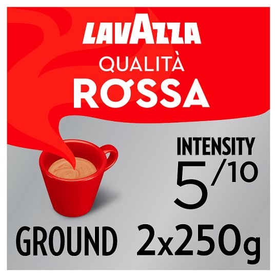 Lavazza Qualita Rossa Ground Coffee 2 X 250G