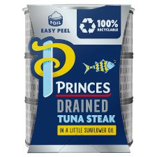 image 1 of Princes Drained Tuna Steak In Sunflower Oil3x110g