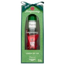 Tanqueray Mini, Glass And Carousel Truffle Gift Set
