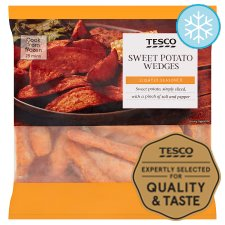 Tesco Sweet Potato Wedges 500G