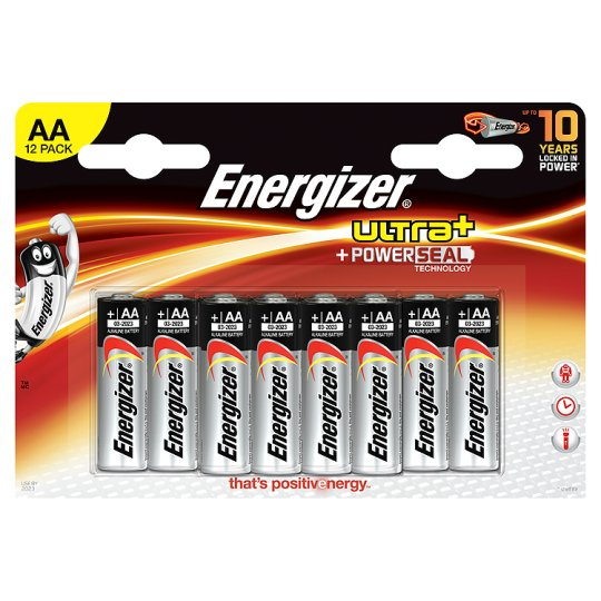 Energizer Max Aa 12 Pack