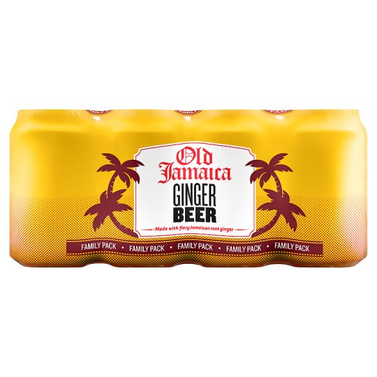 Old Jamaican Ginger Beer 8 X 330 Ml Cans