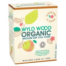 Wyld Wood Organic Cider 3L Bag In A Box