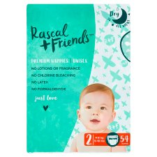 Rascal And Friends Essential Size 2 Nappies 54 Pack