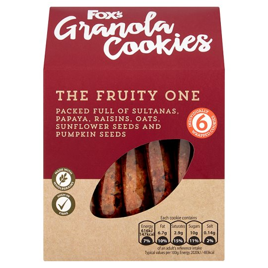 Fox's Granola Cookies Fruity 180G