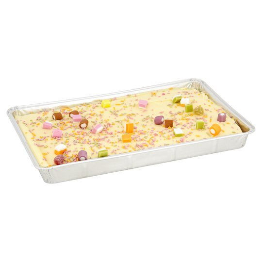 Tesco Vanilla Party Tray Bake