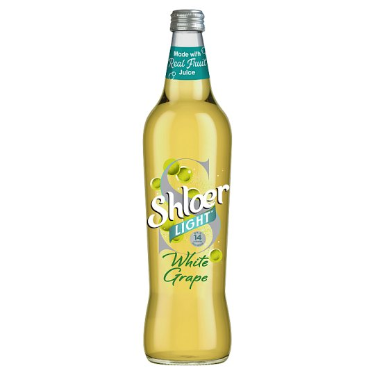 Shloer Light White Grape 750Ml