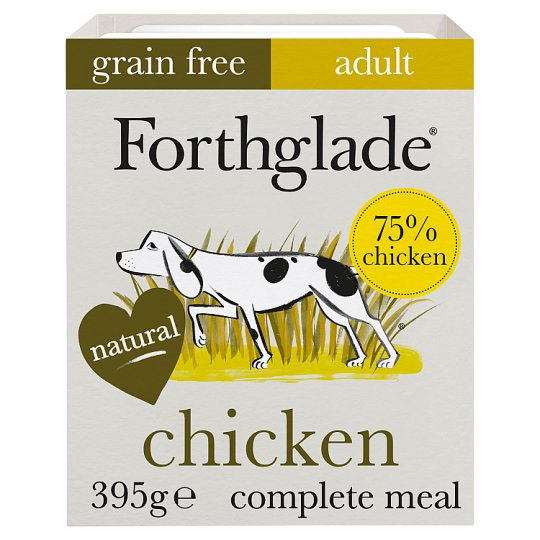 Forthglade Chicken Vegetable Dog Food Tray 395G