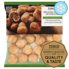 Tesco Garlic Breaded Mushrooms 400G