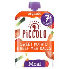 Piccolo Organic Sweet Potato &Beef Ragu Stage 2 130G