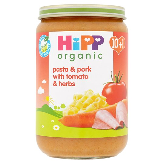 Hipp 10 Month Organic Pasta And Pork Tomato Herbs 220G