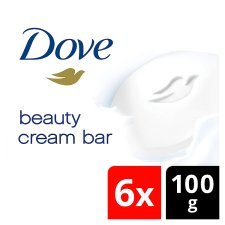 Dove Original Bar Soap 6X100g