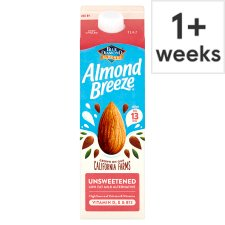 Almond Breeze Unsweetened Fresh Milk Alternative 1 Litre