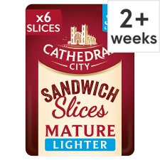 Cathedral City Lighter Mature Cheese Slices 150G