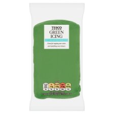 Tesco Ready To Roll Icing Green 250G