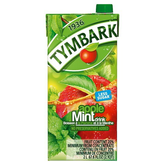 Tymbark Apple And Mint Nectar Drink 2L