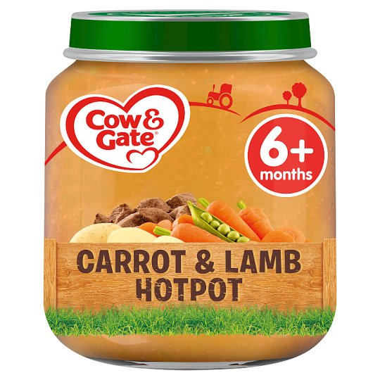 image 1 of Cow & Gate Carrot And Lamb Hotpot 4 Month+ 125G Jar