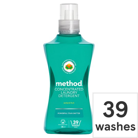 Method Laundry Orchard Fruit 39 Washes 1.56L