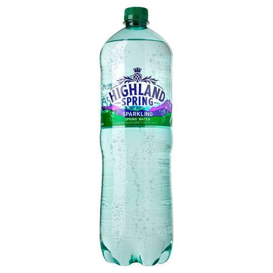 Highland spring sparkling water 1 5ltr groceries tesco for Sparkling water mixed drinks