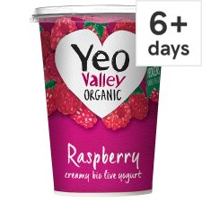 Yeo Valley Raspberry Yogurt 450G