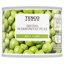 Tesco British Marrowfat Peas 140G