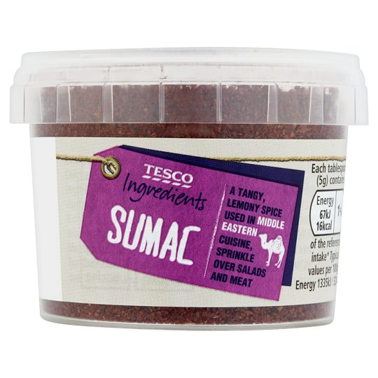 Tesco Ingredients Sumac 50G