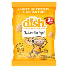 Little Dish Cheese Chickpea Pop Pops 17G