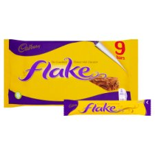 Cadbury Flake Chocolate Multipack 9 X20g