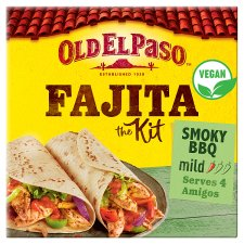 Old El Paso Smoky Bbq Fajita Dinner Kit 500G