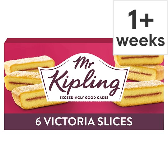 Mr Kipling Victoria Slices 6 Pack