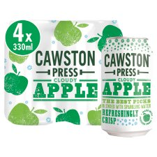 Cawston Press Sparkling Apple 4X330ml