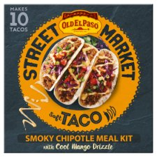 Old El Paso Soft Taco Smoky Chipotle Kit 508G