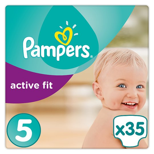 Pampers Active Fit Size 5 Essential Pack 35 Nappies
