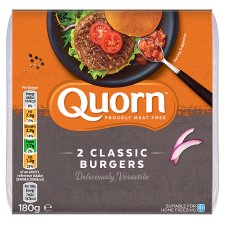 Quorn Meat Free Classic Burger 180G
