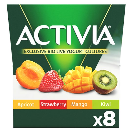 image 1 of Activia Mixed Fruit Yogurt 8 X125g