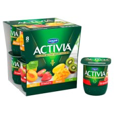 image 2 of Activia Mixed Fruit Yogurt 8 X125g