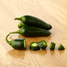 image 2 of Tesco Green Chillies 65G