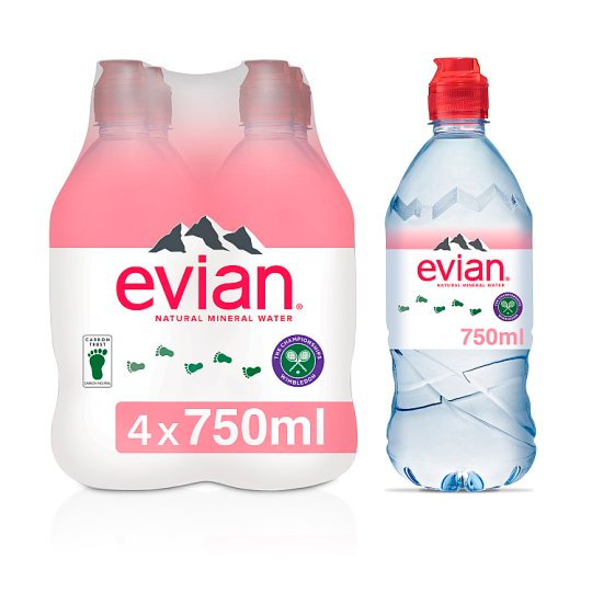 Evian Still 4X75cl