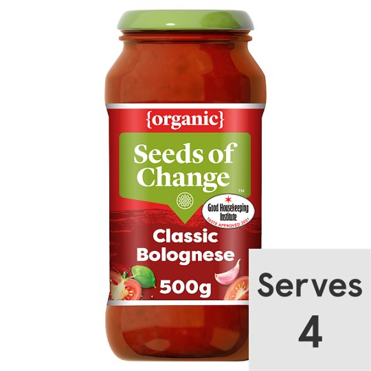 Seeds Of Change Organic Bolognese Sauce 500G