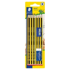 Sstaedtler 10Hb Noris Pencils W/ Eraser/Sharpener