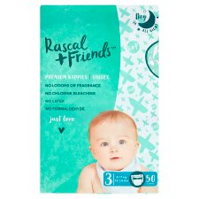Rascal And Friends Essential Size 3 Nappies 50 Pack