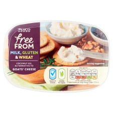 Tesco Free From Coconut Oil Alternative To Goats Cheese 170G